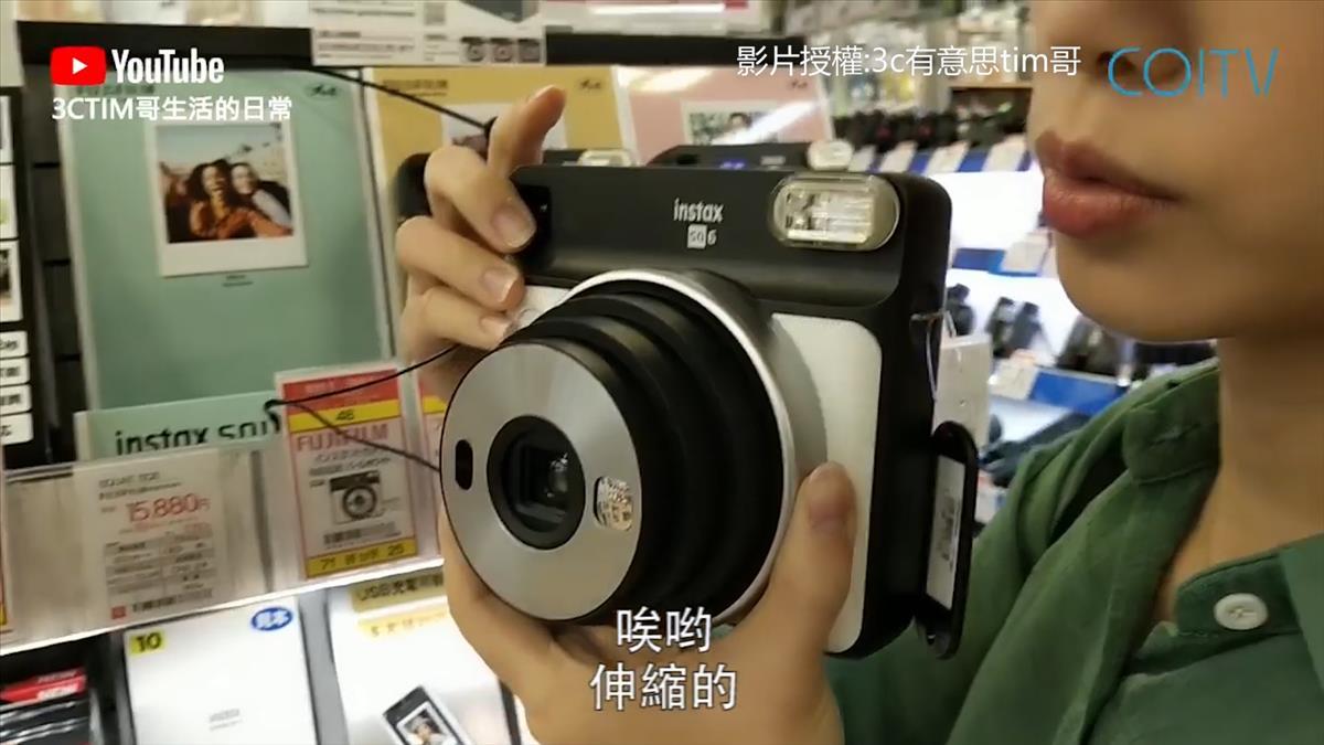 觸控螢幕+廣鏡頭搶攻網美 日本「拍立得」超浮誇進化