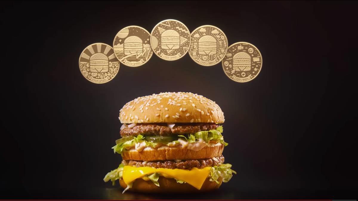 大麥克50歲生日!麥當勞發行「麥克幣」全球大麥克單一價