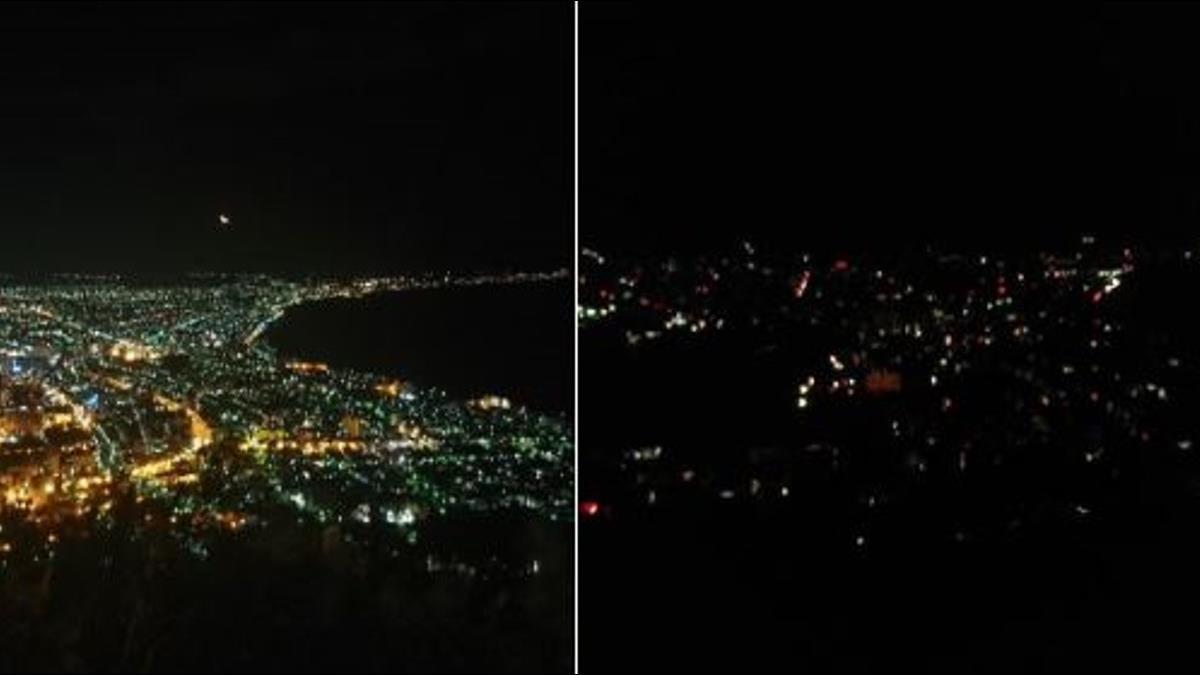「函館百萬夜景剩5萬」北海道強震電廠停機 295萬戶停電
