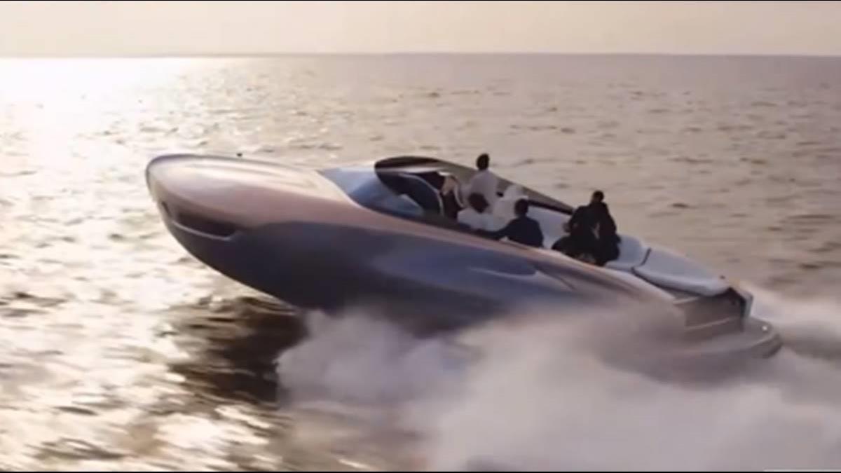 豪華車跨足遊艇 售價恐近1億元
