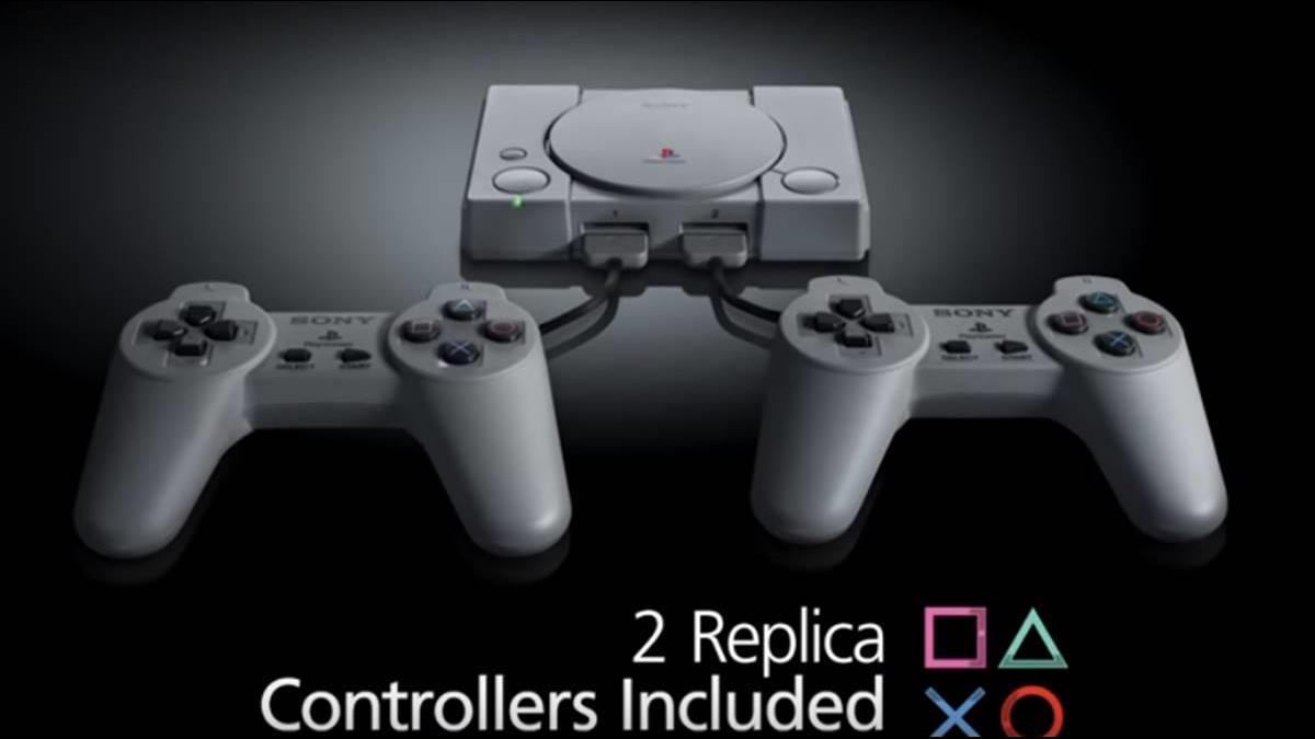 懷舊電玩未完結!PS1推Classic版迷你機 掀起玩家回憶