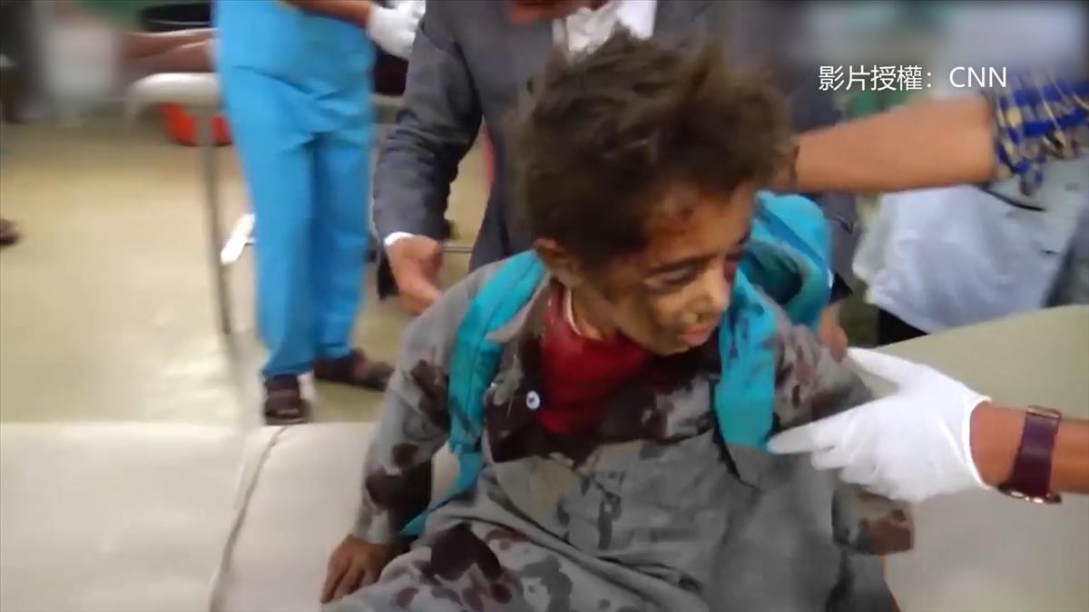 恐懼!校車被炸、婚禮遇空襲 葉門悲歌不斷 人民上街怒吼