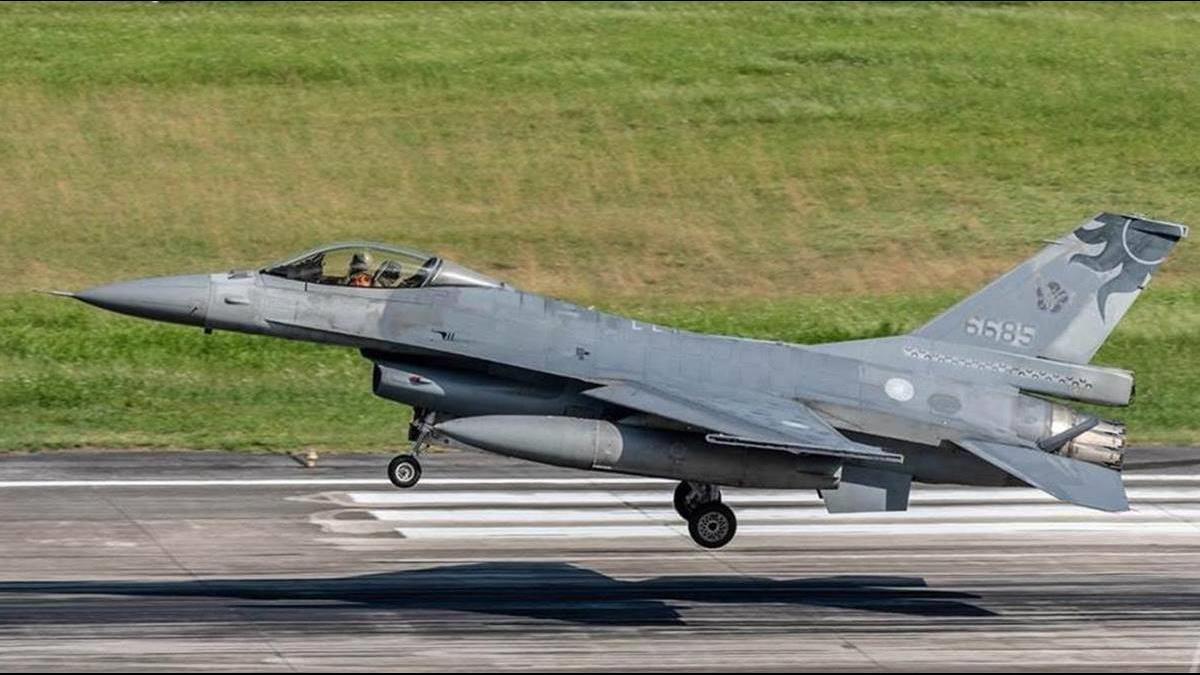 F-16備件在列!美批准對台102億軍售案