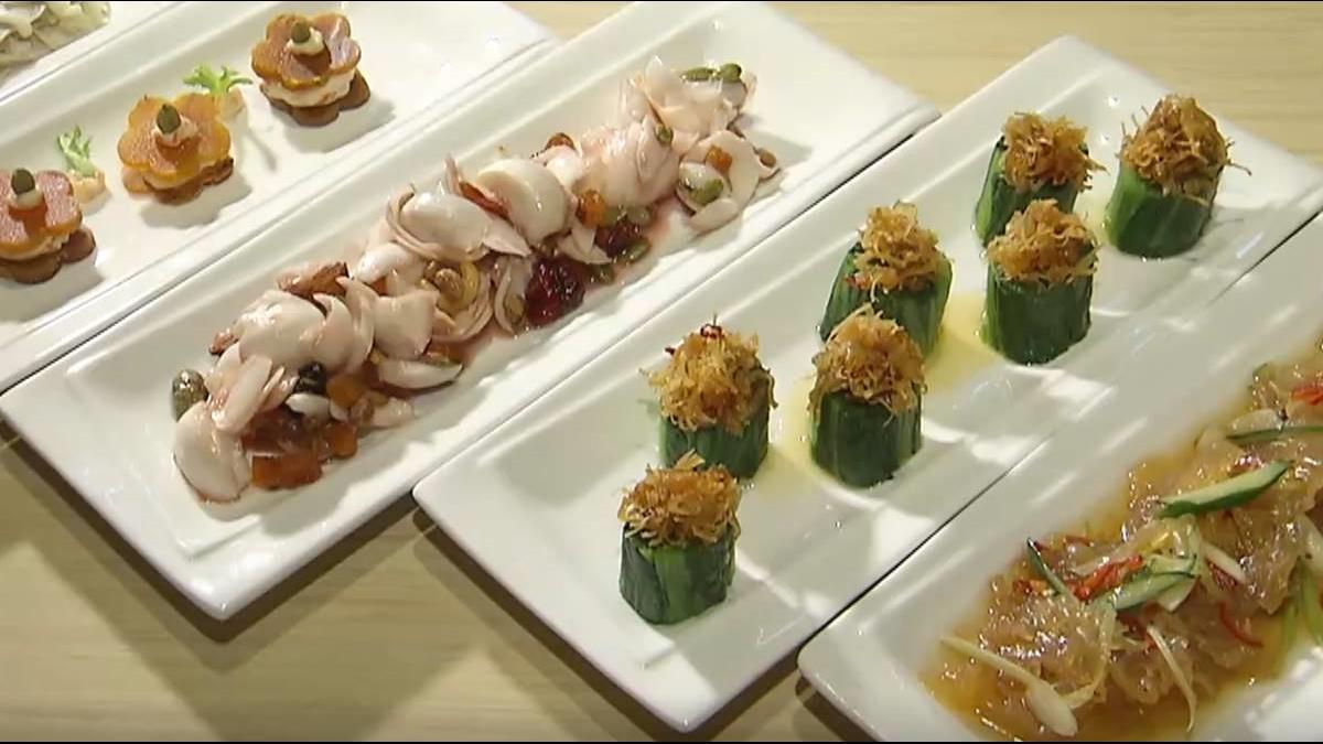 南北貨第三代轉型 打造創意烏魚子料理