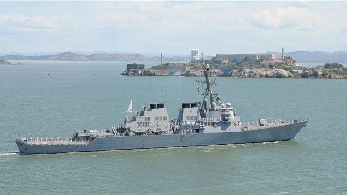 「僅距41公尺」美艦闖南海險撞陸驅逐艦!陸:依法依規