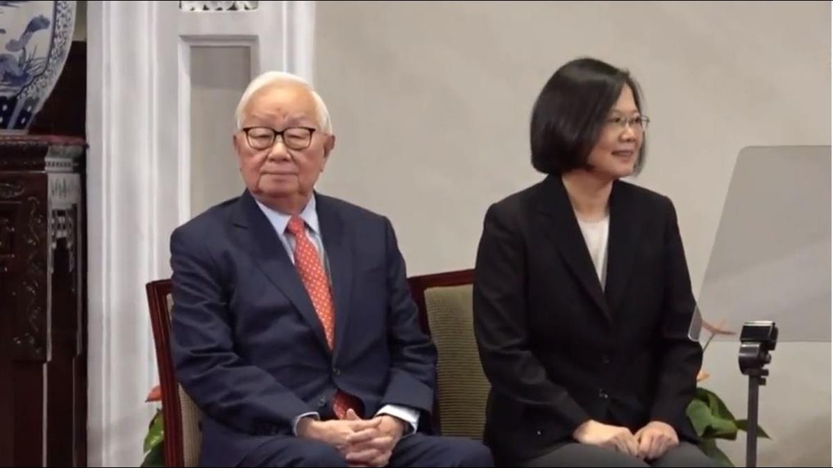 總統宣布APEC特使!蔡英文:張忠謀是台灣共識不二人選