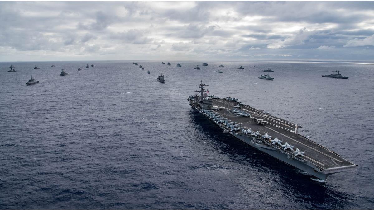 貿易戰變武力戰?美軍傳將在台海軍演 台股重挫6度破年線