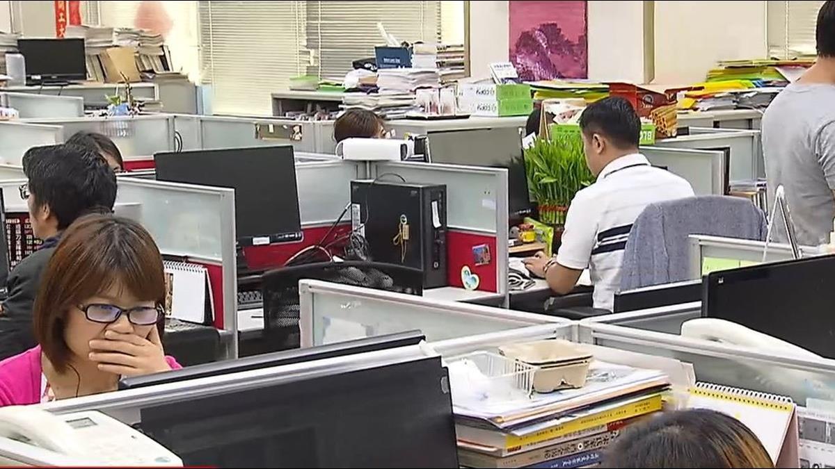 你過勞了嗎?!台灣8%勞工周工時超過50小時