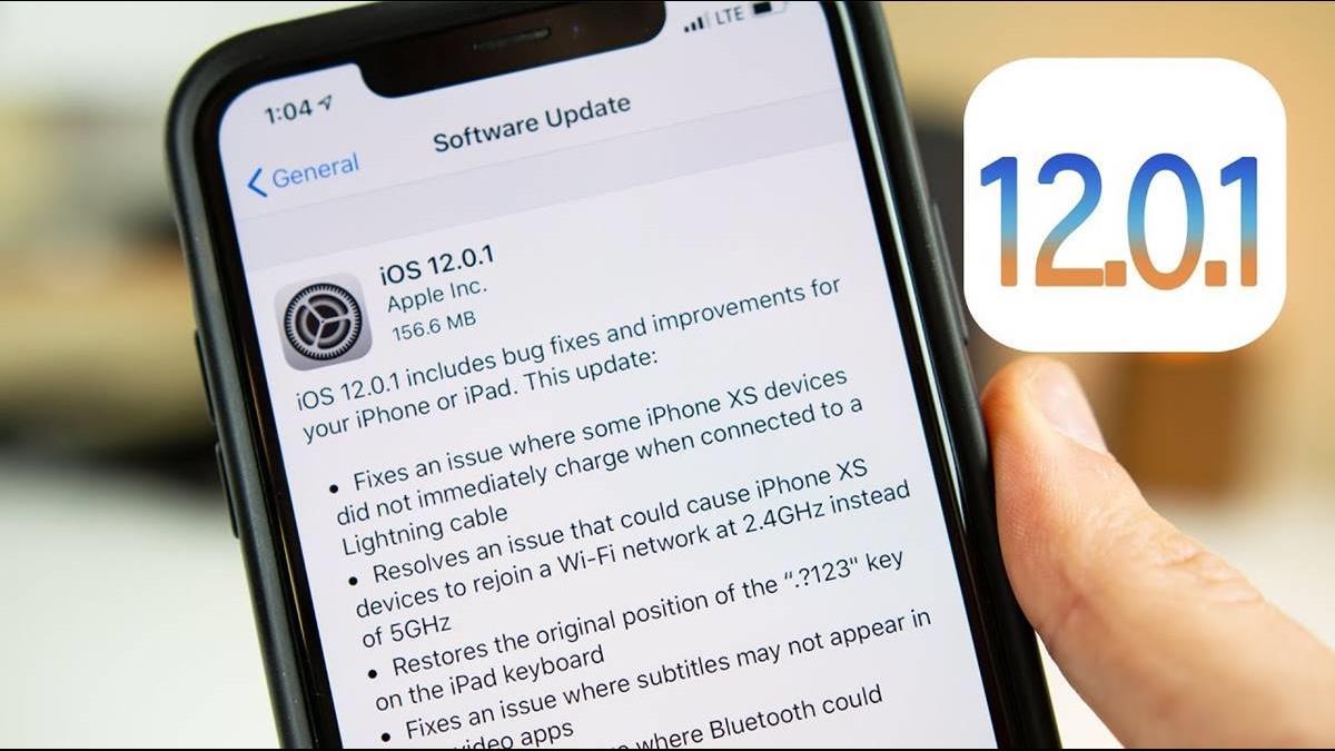 蘋果新iOS 12.0.1又出問題? 電池續航力降、iMessage亂傳