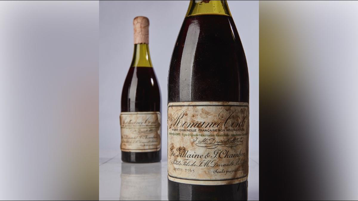 一滴23K!這瓶紅酒1725萬落槌 一口抵新鮮人月薪