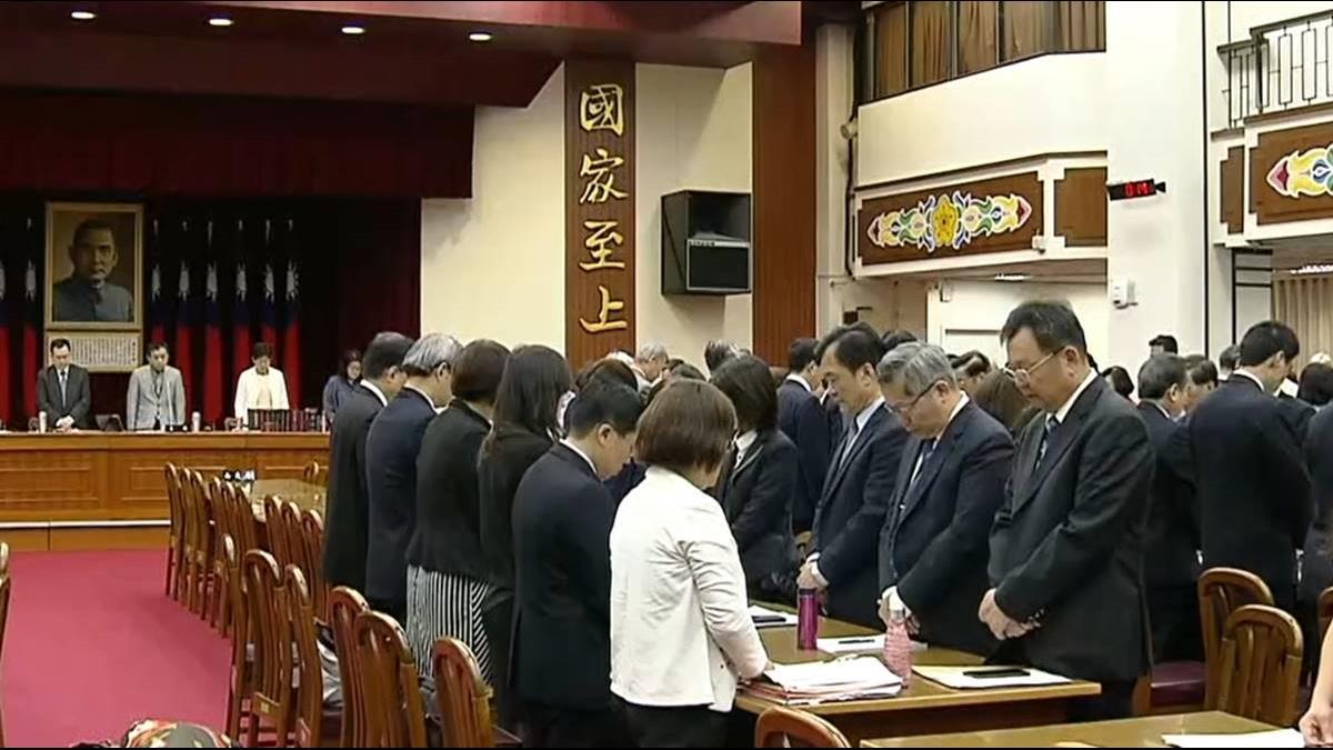 普悠瑪翻覆釀18死 財委會會前全體默哀