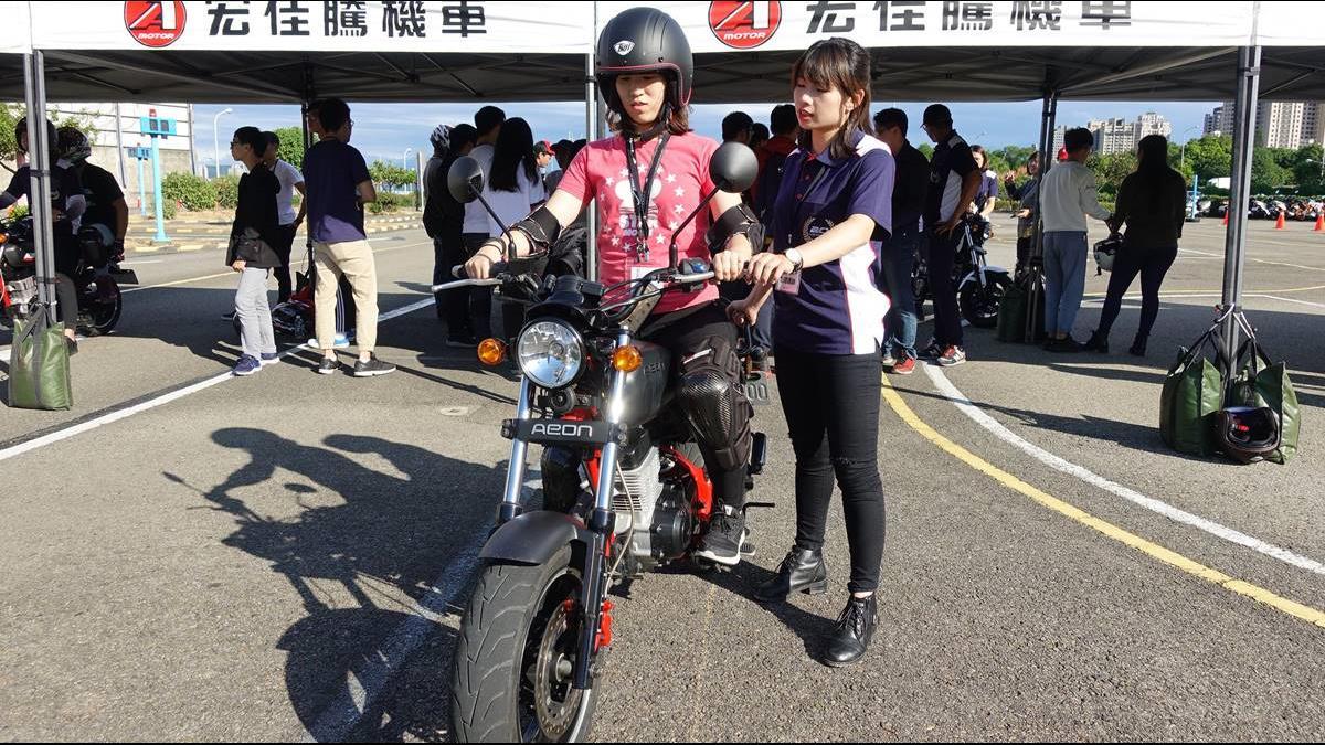 免費學騎檔車秘訣! 這個檔車營讓女生也輕鬆上手?
