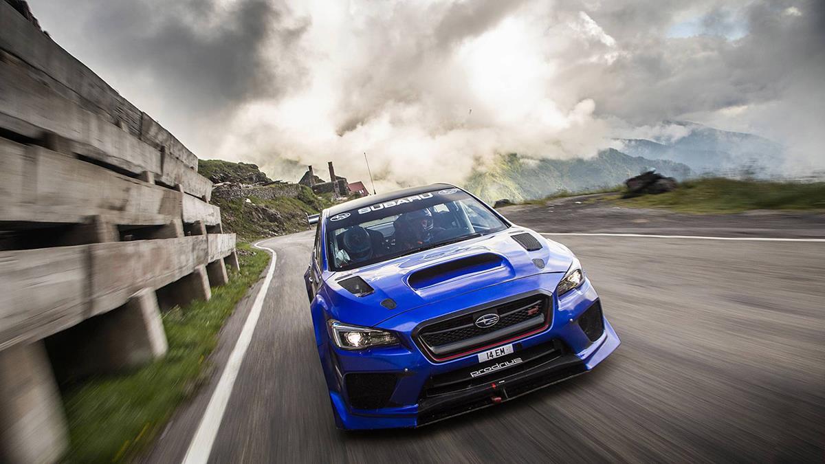 Subaru改裝車征服惡魔般山道   過彎像切豆腐容易?