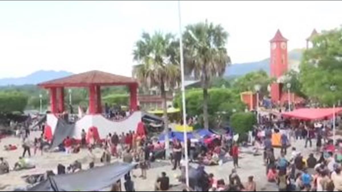 美國夢碎?中美洲移民北漂 川普打造帳篷城市