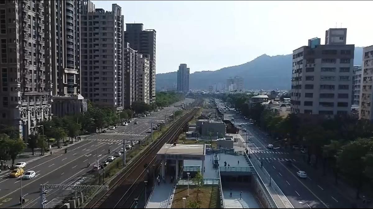 高雄鐵路地下化 市區不再分割交通更順暢