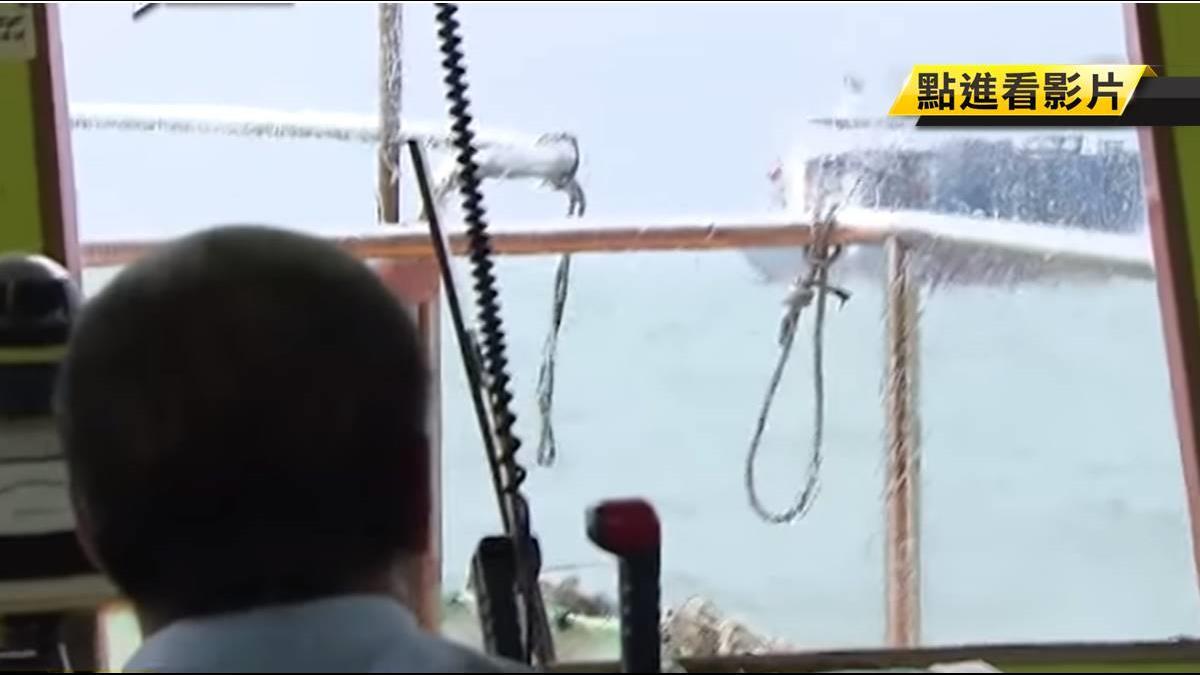 怒海搏命換月薪80萬!「引水人」一生死守同個港口
