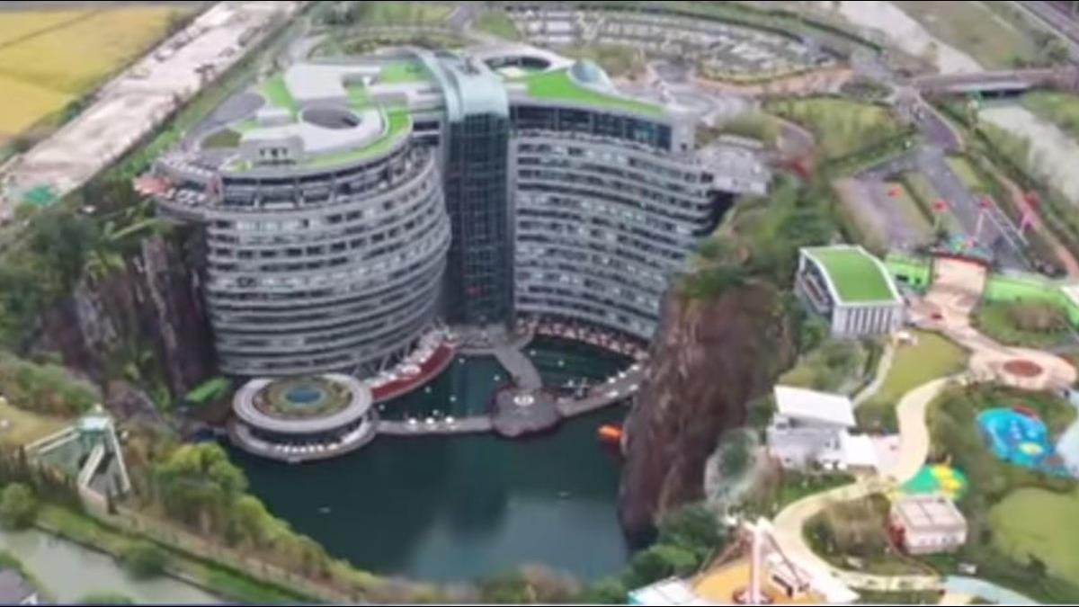 地平線下88米!上海「深坑酒店」明開幕每晚1.5萬起