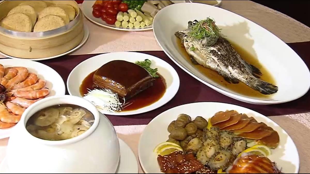 石斑魚、雞湯團圓必備 外帶年菜估增2成
