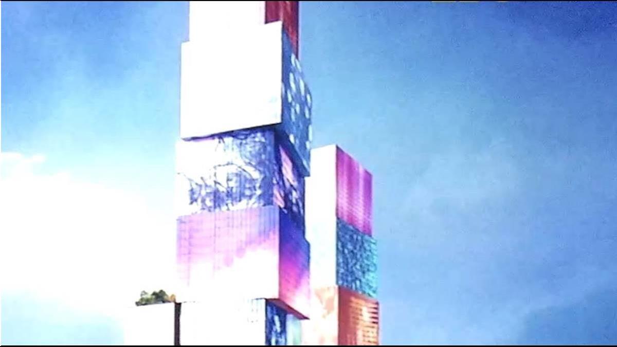 600億打造108個「盒子」 台北雙子星設計圖曝光