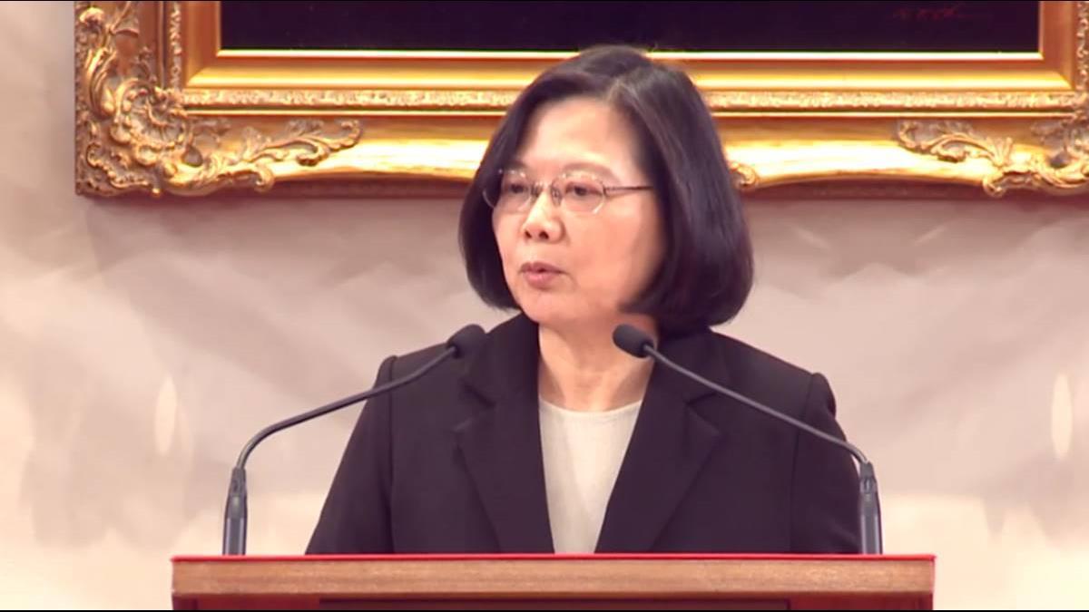 回應習近平!蔡英文:台灣絕不接受一國兩制