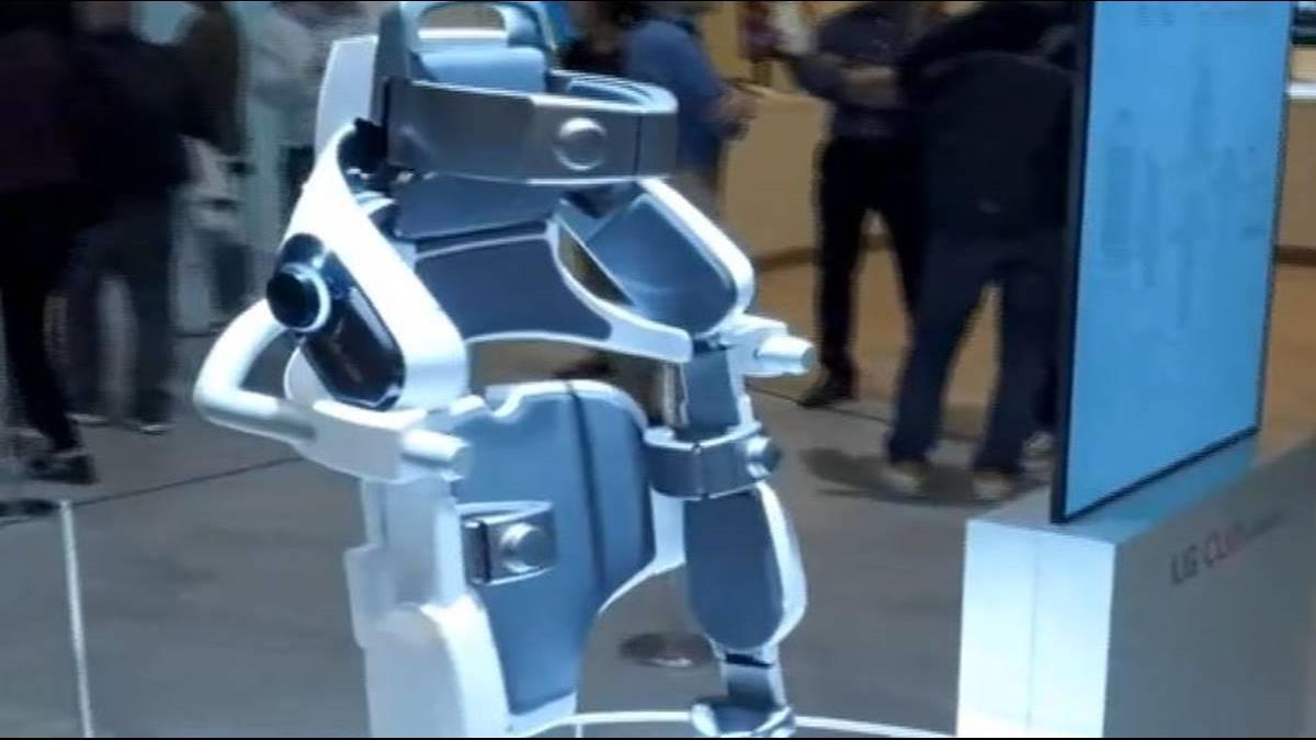 CES雙A拚戰!聯發科5G亮相 LG推穿戴機器人