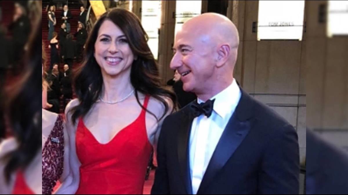 分手費2兆!貝佐斯離婚25年妻 億萬富豪榜恐洗牌