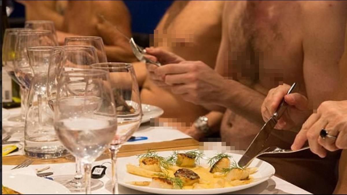 不想脫了?巴黎裸體餐廳「1晚不到30人」將熄燈