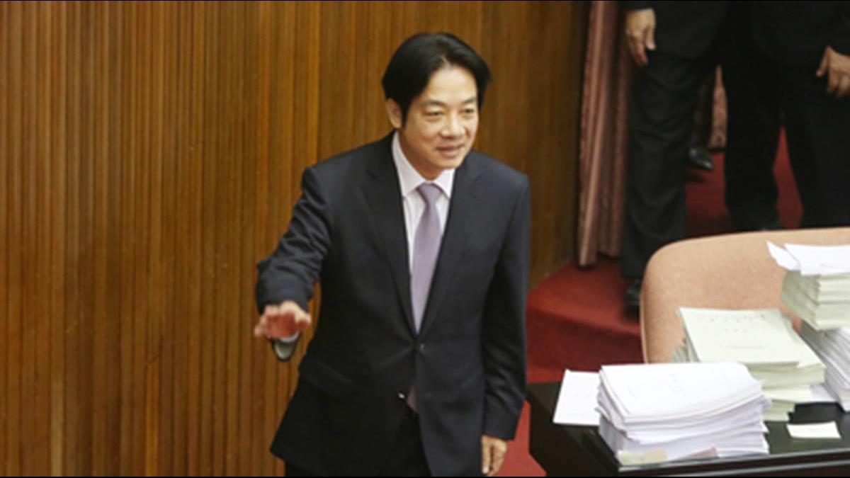 「他日江湖相逢再當杯酒言歡」賴揆今率內閣總辭