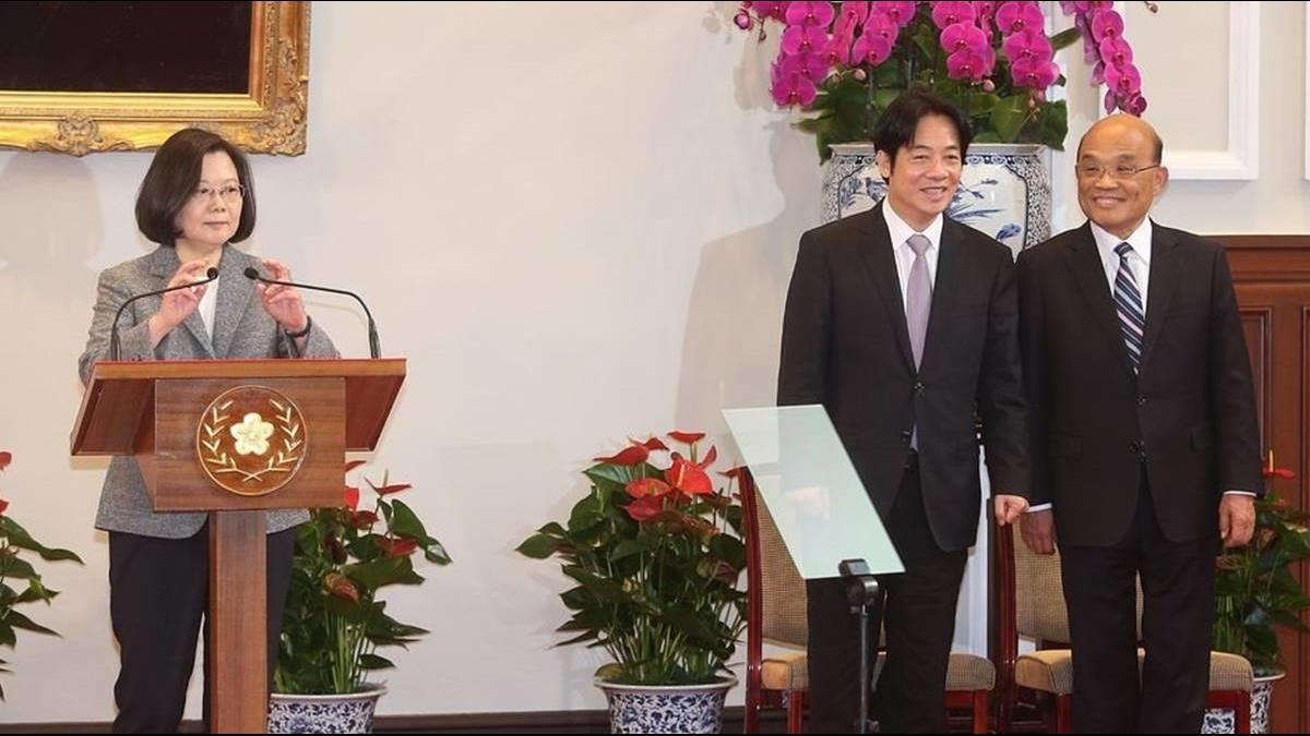 衝衝衝!蘇貞昌接任行政院長 蔡總統大讚3強項