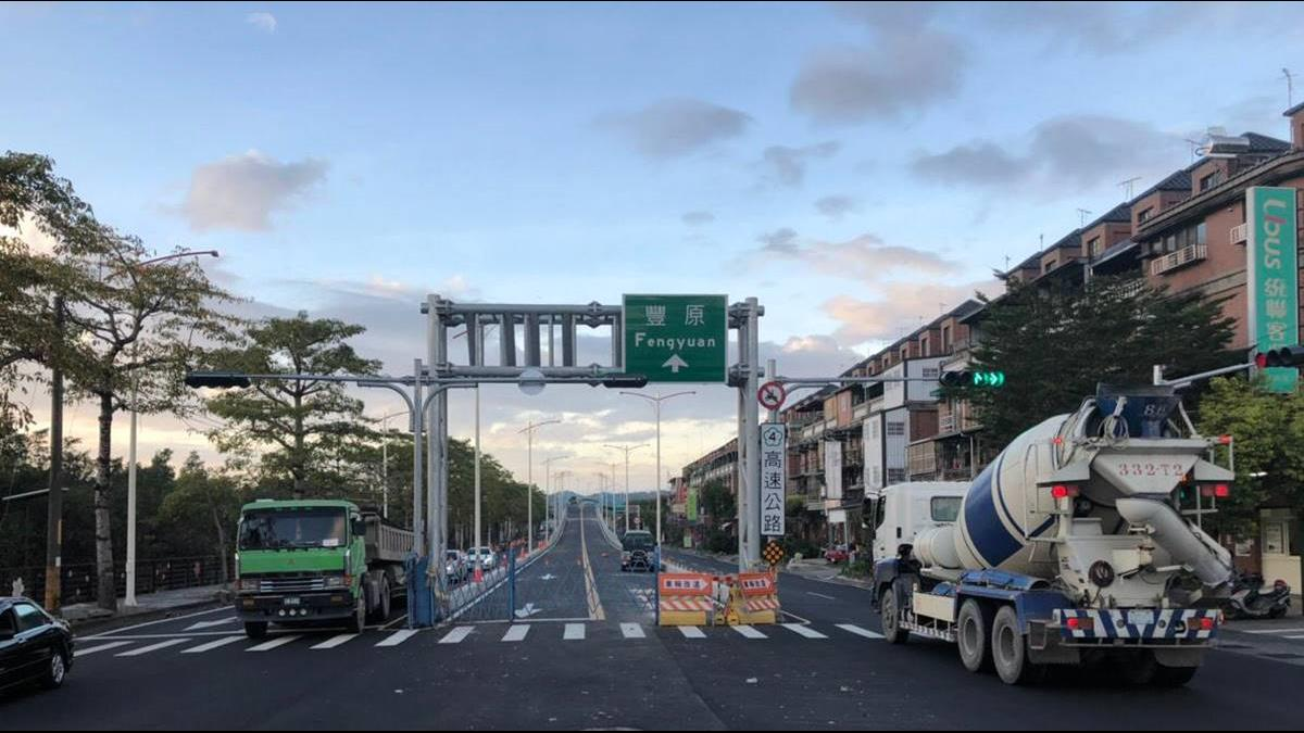 東豐快蓋一半「卡環評」成斷橋!盧秀燕回應了