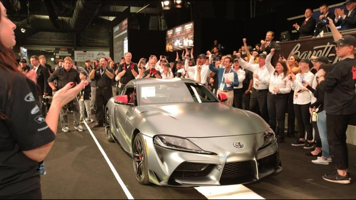 好暖!Toyota Supra「6482萬拍出」可買3輛藍寶堅尼