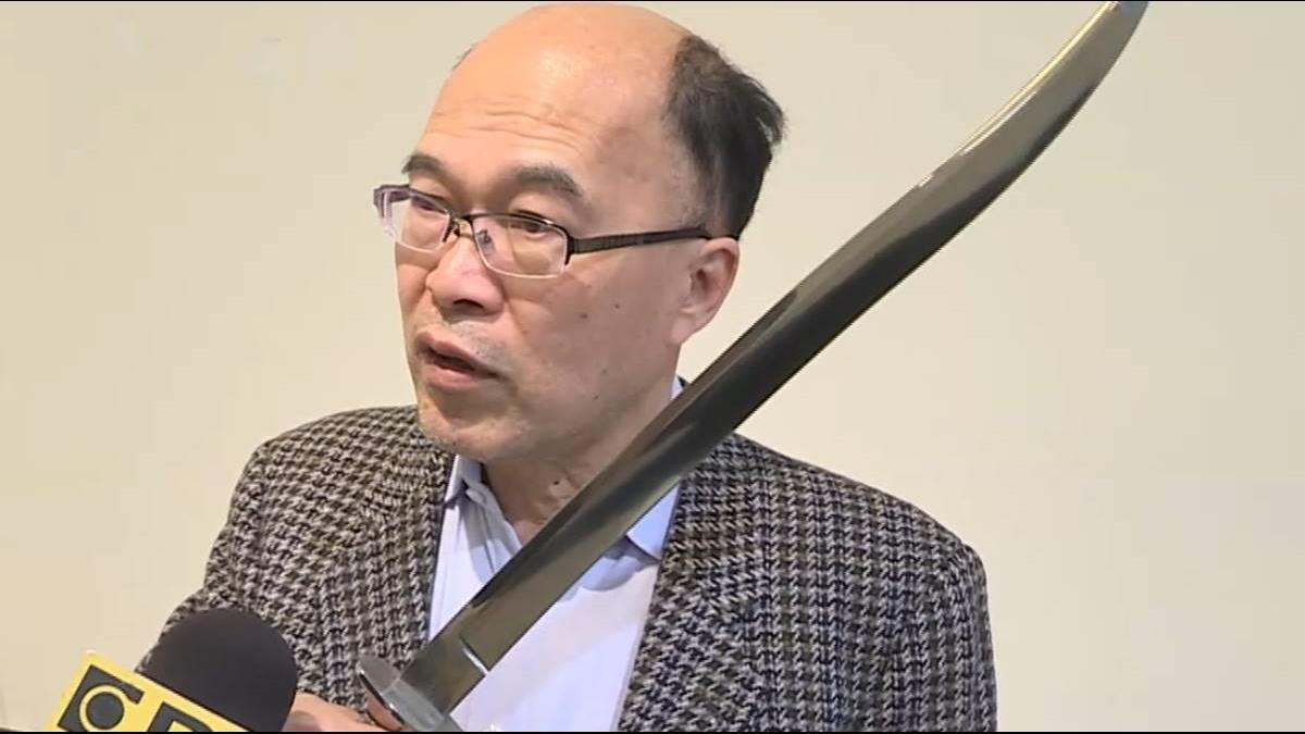 十年磨一劍! 陳遠芳鑄劍登世界500大名劍