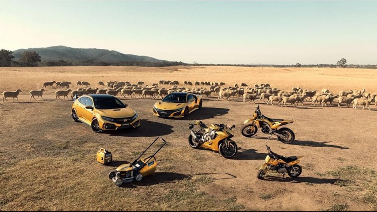 看的到買不到?慶祝Honda登澳50年 土豪金只看不賣