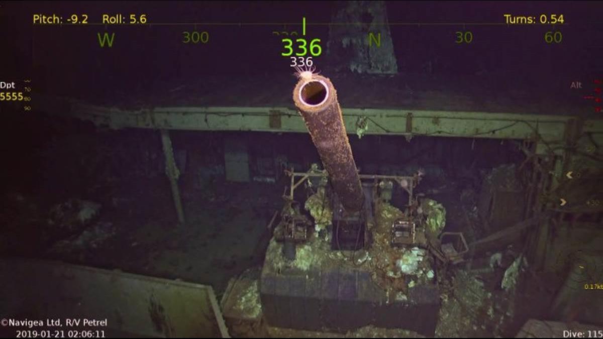 二戰航母「大黃蜂號」找到了!沈船搜索隊竟是他組的