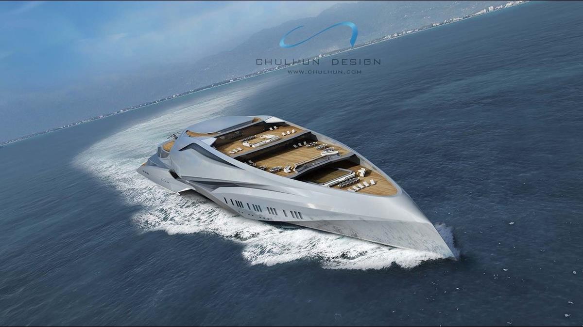 史上最豪華遊艇將誕生?這公司砸240億打造海上行宮