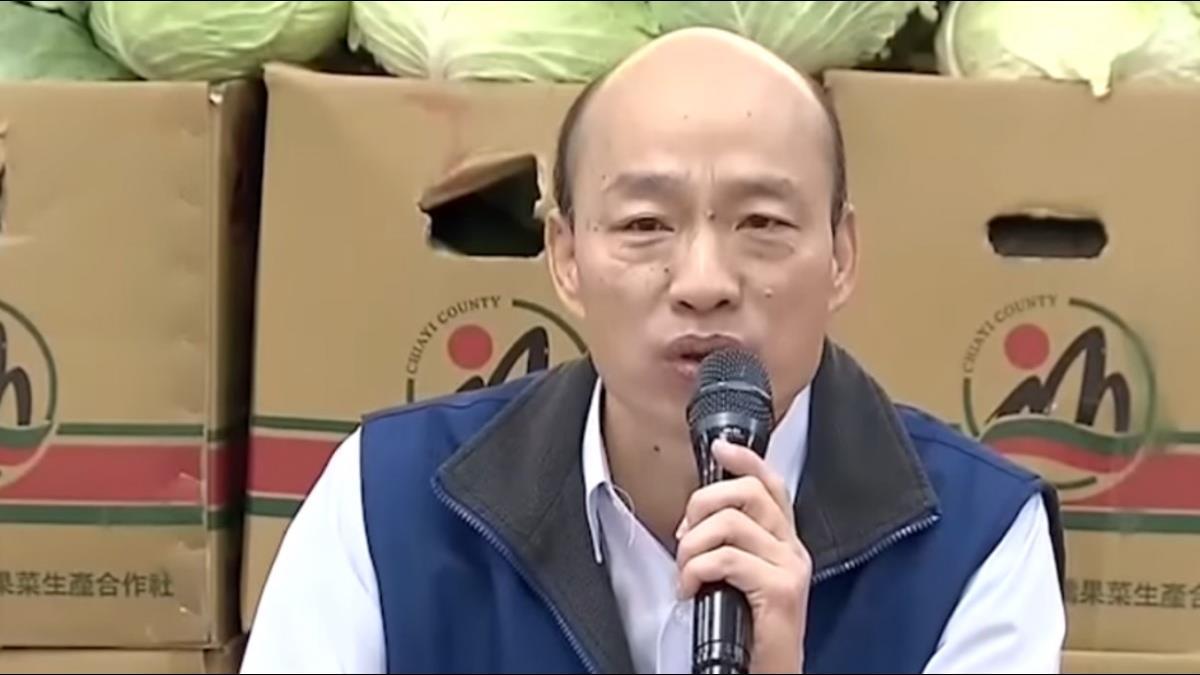韓國瑜嘆台灣鬼混20年 他臉書發文14字重砲回擊