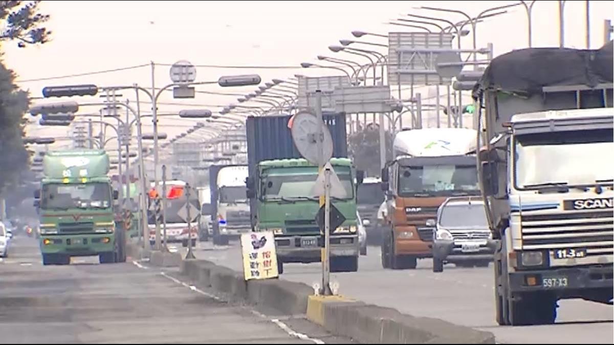 大貨車減污新方案 最高40萬貨物稅減徵