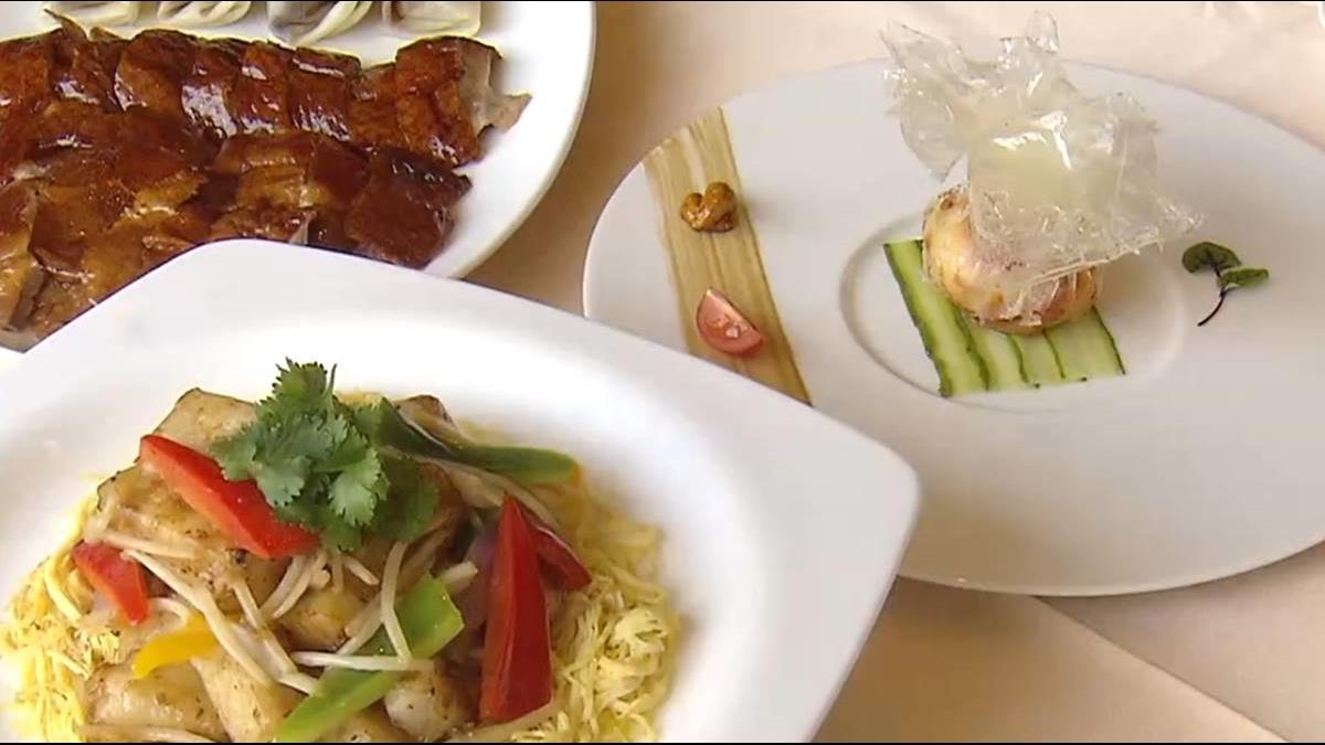 北京烤鴨16種新吃法 玻璃明蝦球饕客愛