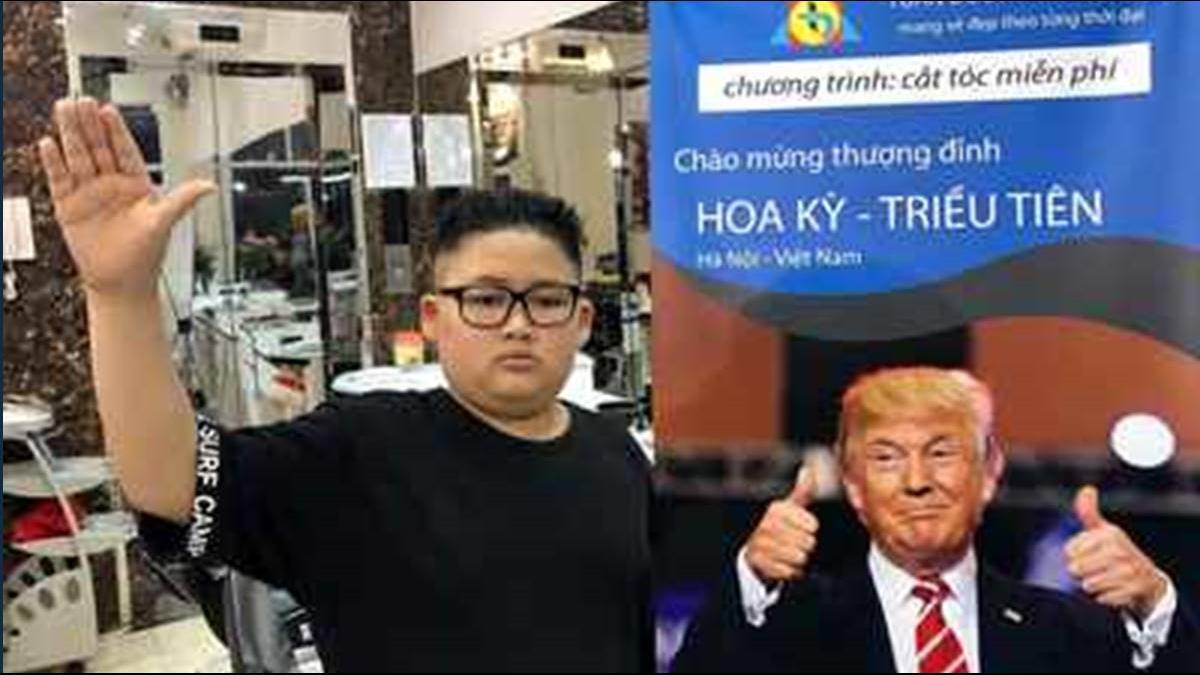 川金二會將登場!越南河內髮廊剪「這2顆頭」免費