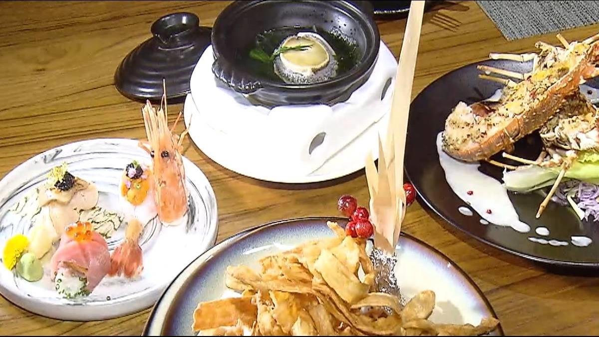 玫瑰龍蝦、南非鮑創意餐 小S、江蕙也愛!