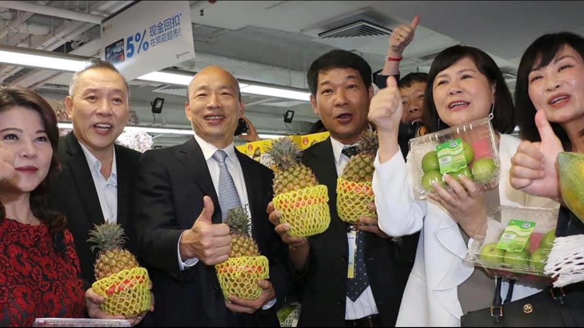 韓國瑜赴陸招商請「陸委會放心」蘇貞昌給出4字提醒