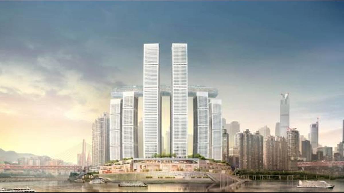 躺60層樓高空!造價千億「橫向摩天大樓」驚呆外媒