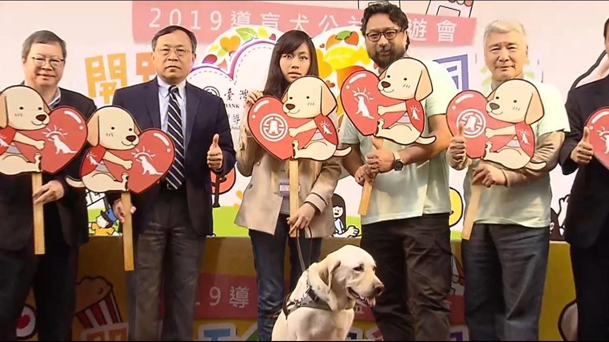 力挺導盲犬協會! 台銀第三年辦募款園遊會