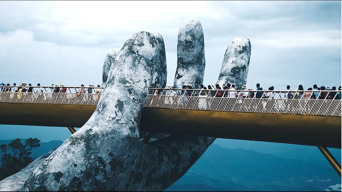 623億的奇蹟!「這雙手」捧起高1400公尺世界大橋