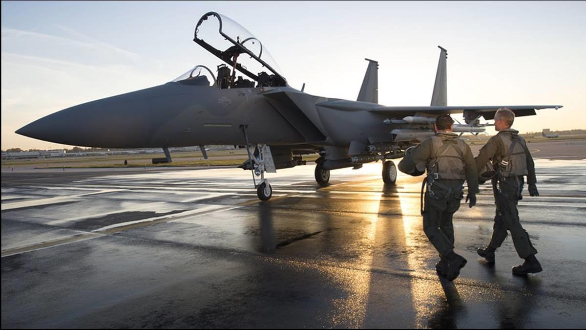 拿台千億軍售拚機隊年輕化?美軍砸340億買F-15EX