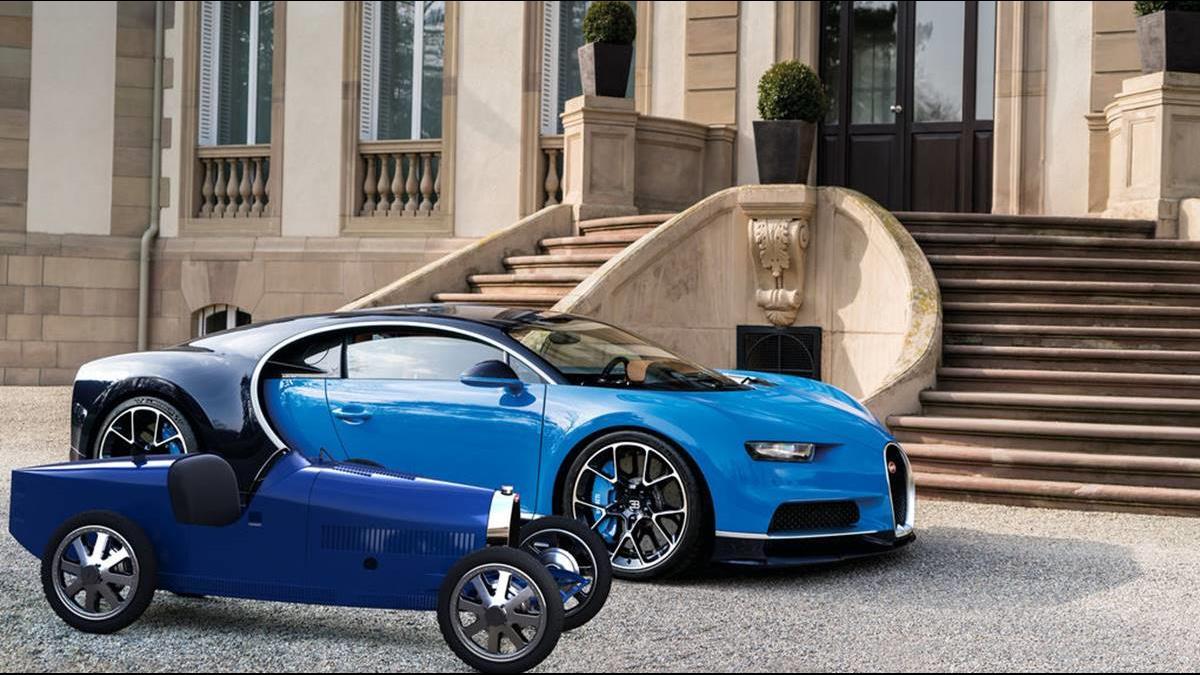 可買1輛國產車!布加迪推105萬兒童電動玩具車