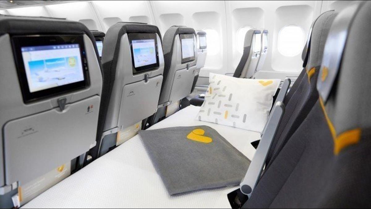 爽躺1整排!這航空推「經濟艙臥鋪座位」8200元起