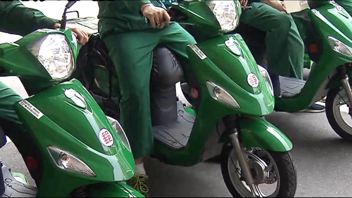 郵政送信「更綠」 首批電動三輪車年底亮相