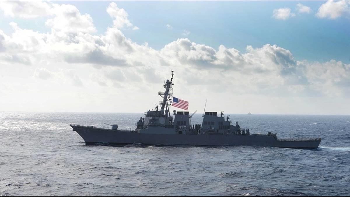 美艦9個月內6度通過台灣海峽!國防部這樣說