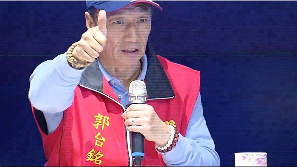 郭董棄鴻海參戰2020 沈慶京:犧牲太大